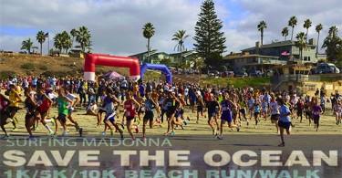 surfing madonna beach run