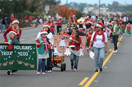 Christmas Parade in San Diego