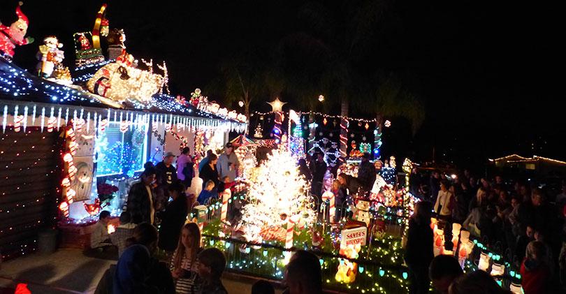 San Diego Christmas Lights.2015 North County Christmas Lights Displays