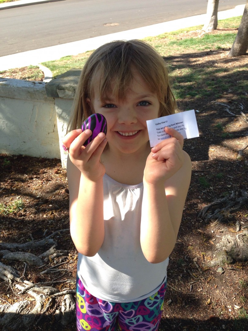 Egg Hunt Winner