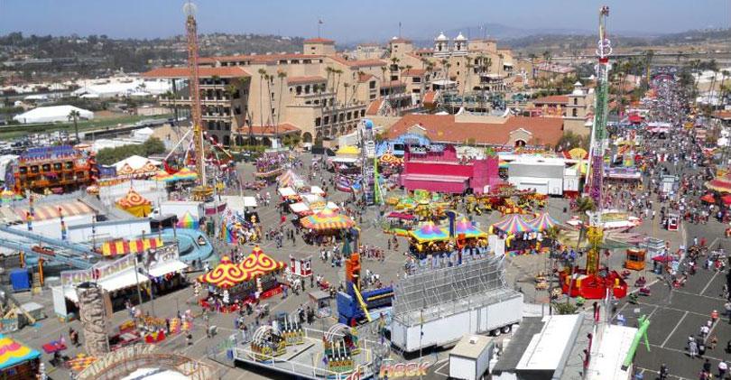 Scene From The San Diego County Fair Formally Called The Del Mar Fair