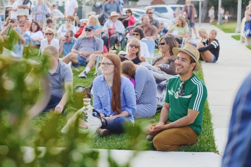 Carlsbad Music Festival Crowd