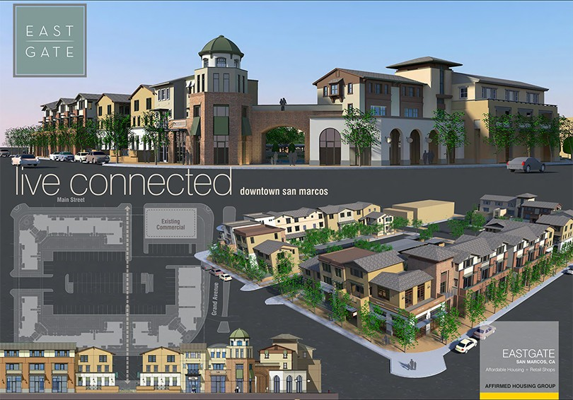 to bring more than 40 affordable housing units to the city san marcos