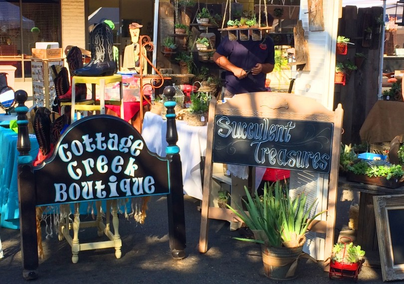 Fallbrook Harvest Faire Booth