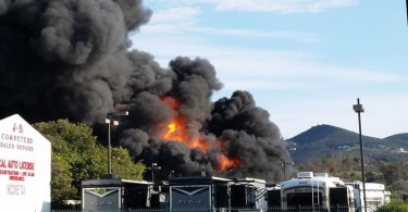 san-marcos-fire-Holland-RV-Centers