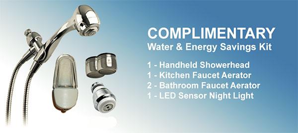 Water Saving Kit SDGE