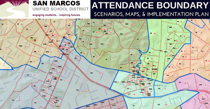 San Marcos Unified Boundary Update 2018