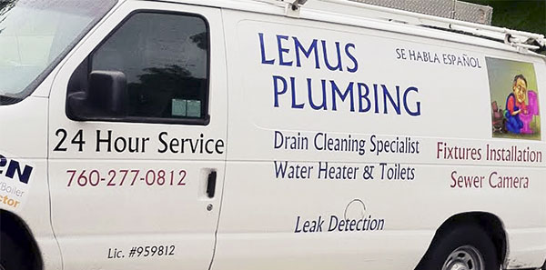 lemus-plumbing-van