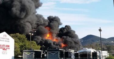 san-marcos-fire-Holland-RV-Centers